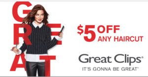 great clips coupon $10