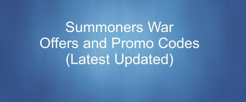 Summoners War Promo Codes 2019 { 75% OFF Discount Coupons }