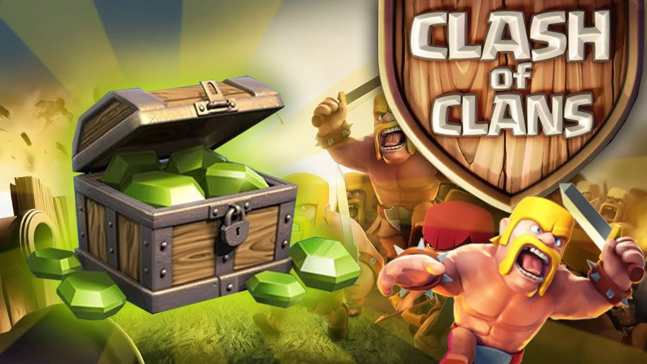 Clash of Clans DNS Codes 2018 { Redeem Free Codes }