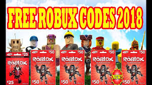 Free Roblox Gift Card Codes 2018 Gift Ideas