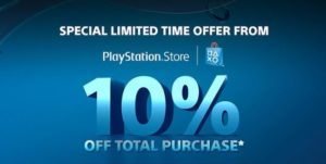 PS4 10 digit discount codes $10
